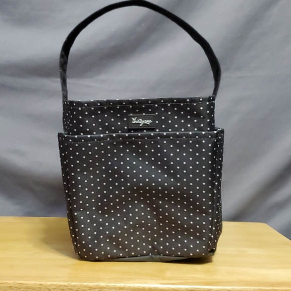 thirty-one Other - Thirty-one  grey dot storage tote with handle